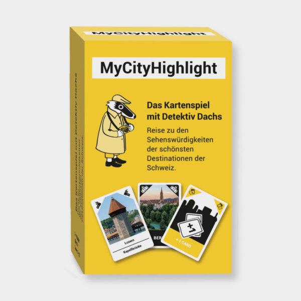 Produktbild Kartenspiel mit Detektiv Dachs